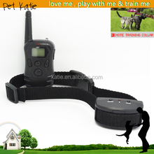 Basic Battery Operated Electronic Dog Shock Training Collar with Remote Control