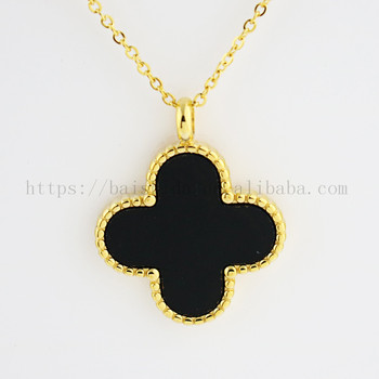 flower shaped acrylic 18k gold plated jewelry fake accessiories