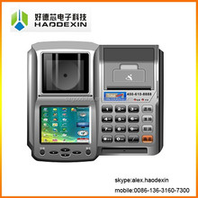 Touch screen pos machine with 58MM thermal printer for retail supermarket airtime recharge GC036