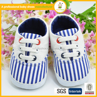 new fashion designer wholesale kids canvas with shoelace casual baby boy shoes