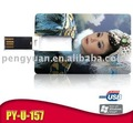 4GB portable promotional card usb pendrive for wholesale