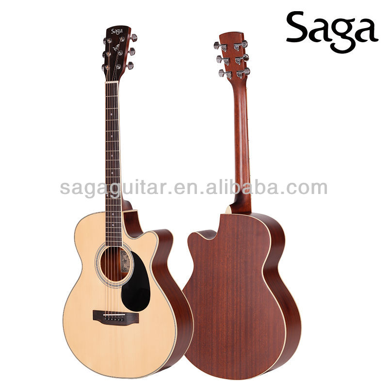 musical guitar equipement made by saga guitar factory, SA700C