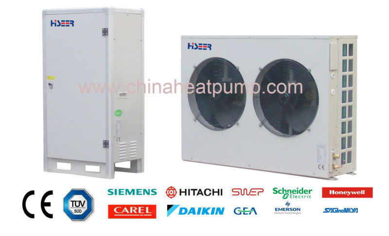 10kw split evi air source heat pump TUV certified supplier