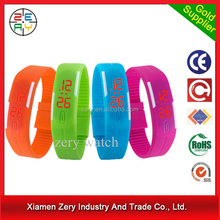R0775 cheap led design your own digital watch, touch screen led watch instructions