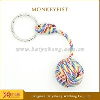 paracord keychain holder monkey fist key chain for sale