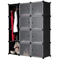 10 cubes wardrobe dressing table designs, you can assemble as your way(FH-AL0040-8)