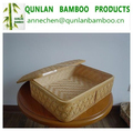 Large bamboo food basket for sale