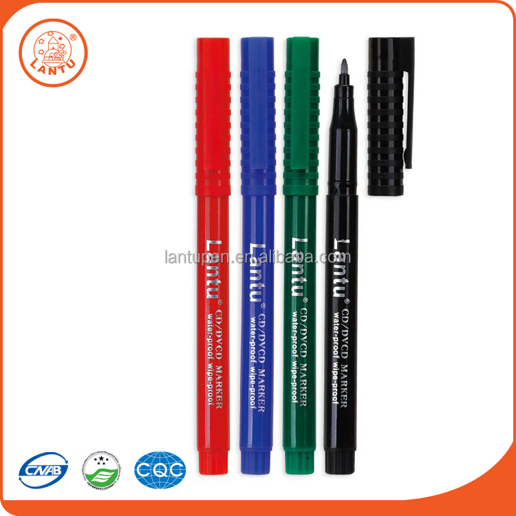 Lantu Cheap Custom Special Price Washable Felt Tip Election Indelible Ink Markers