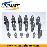 Tungsten carbide mining tips for rock excavation, coal mining drill bit, rock cutting tool