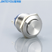 Electrical Industrial IP67 Metal Stainless Steel Push Button Switch