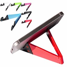 Promotion Products V shape phone holder/Foldable PC tablet stand for phone