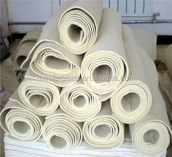 High Quality of White Industrial Wool Felt