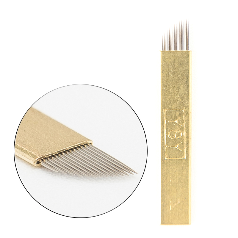 EASYZLM Copper Wrapped <strong>C12</strong> 0.25mm Blades Microblading