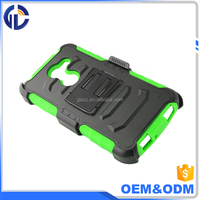 Cheap Cell Phone Accessories China Rugged Hybrid Hard Case Cover Belt Clip Holster For Alcatel Zip / Kora / A30 5046