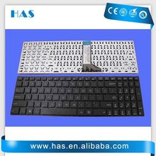 Popular model Laptop keyboard for ASUS X551CA Turkish Black without frame