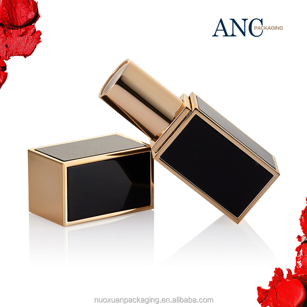 ANC Fancy Long Slim Private Logo Luxury Empty Lipstick Tube Case Packaging Wholesale Makeup Lipstick Packaging