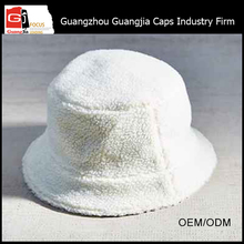 Guangjia Hat Manufacturer Fashion Custom Plain White Bucket Hat