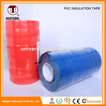 Multicolor optional high voltage pvc electrical insulation tape