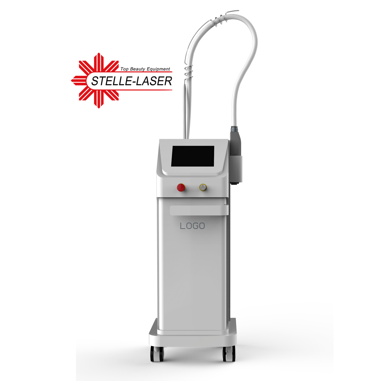High Quality CE Single Rod 532nm 1064nm 1320nm <strong>Q</strong> Switched Nd Yag Laser For Tattoo Removal
