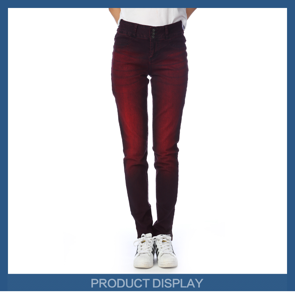 red blue denim brand jeans calca jeans feminina jeans para mujer