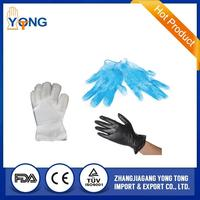 CE Approved Disposable Vinyl Gloves with powder and powder free