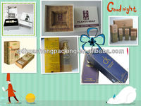 2013 popular wonderful excellent recycled fancy delicate soap box packing