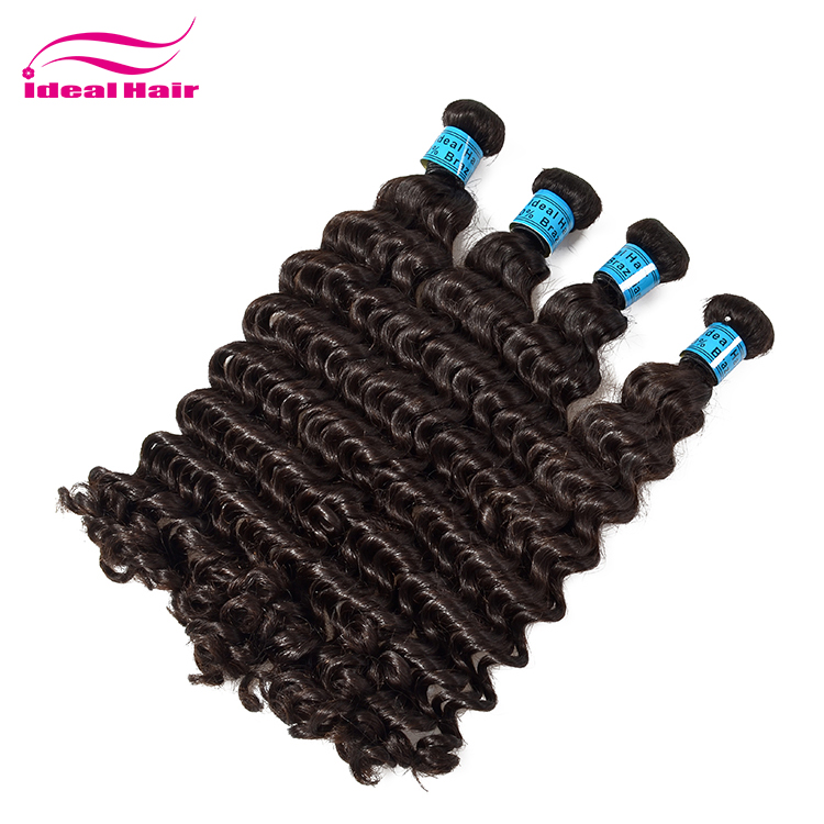 Best selling human deep wave original virgin brazilian hair in guangzhou,free sample remy wholesale virgin brazilian human hair