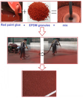 Waterproof Spray Glue And Polyurethane Solvent For Rubber Running Track Installation FN-E-16031603