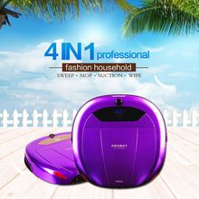 Smart Robot Vacuum Cleaner with humanized dust bin design