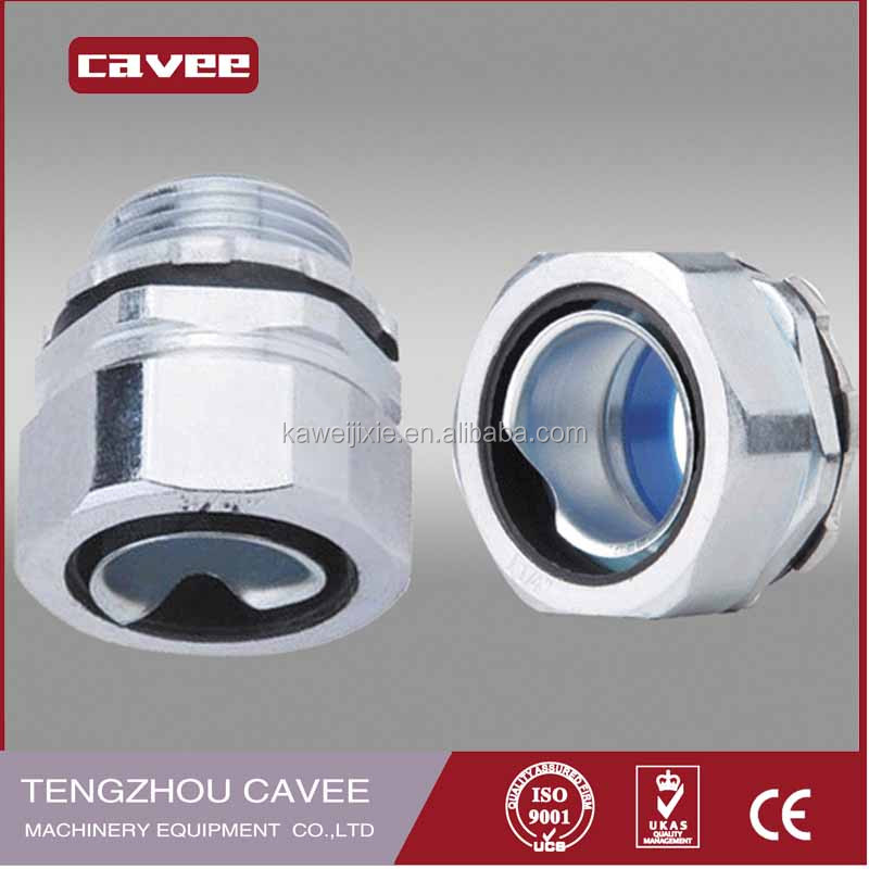 Electrical conduit metric thread liquid tight connector