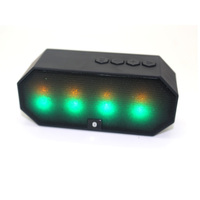 Bluetooth portable led light magnetic speaker with TF card and microphone