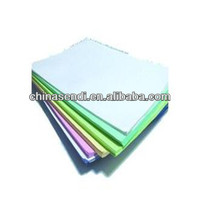 HOT!!! 100% 70% 50% wood pulp Carbonless Paper with high quality and low price