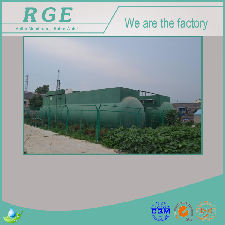 Direct Factory Price Containerized MBR Facility For Toilet Sewage Waste Water Reuse