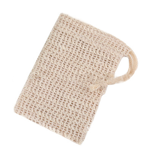 Wholesale Bathroom Personal Effects Cotton Mesh Sisal Soap Bag