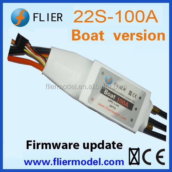 Flier 100A 22S Navy brusheless speed controller t-motor for rc Boat