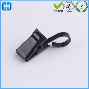 China Factory Bulk Supply Black Metal Curtain Hook Clips In Cheap Pirce