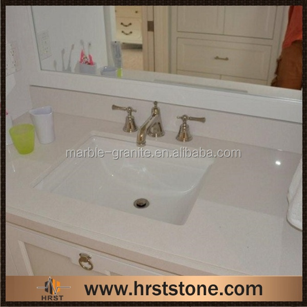 Cheap Molded Double Bathroom Sink Countertop