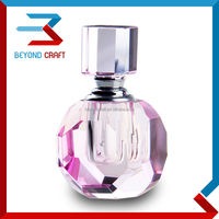 3ml crystal perfume bottle design for muslim wedding gifts
