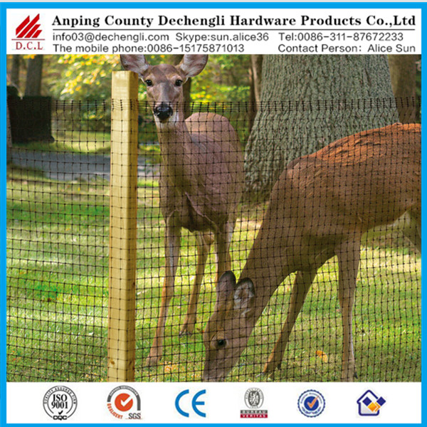 Heavy-Duty Deer Fence/Anti wild deer net/plastic mesh anti animal net