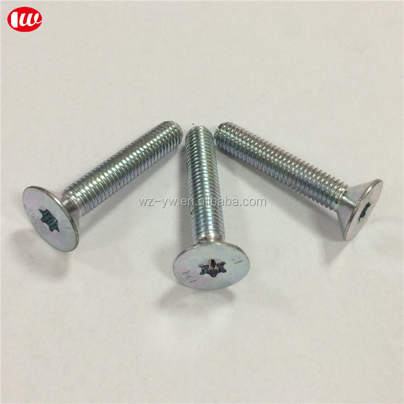 zinc plated Flat Socket Cap Screws