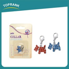 Familiar With ODM Factory Wholesale Cute Pink Bow Puppy Pendant Blank Dog Tags Wholesale