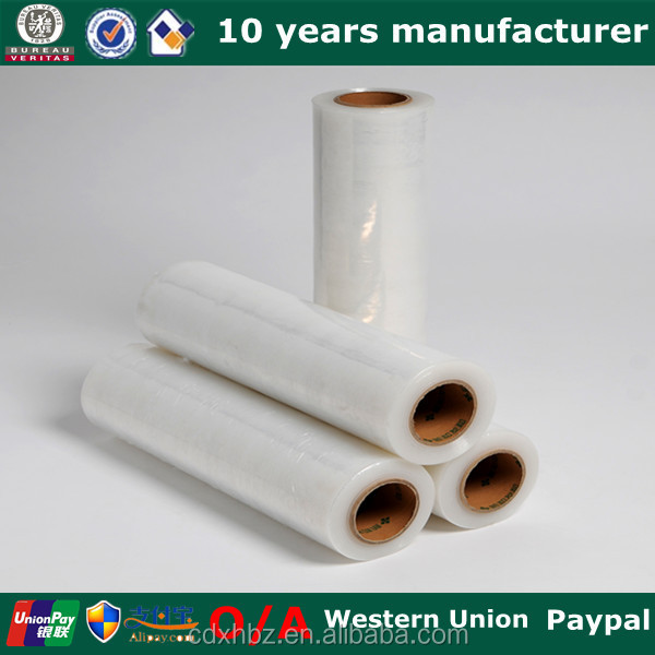 xinhe plastic double side adhesive film roll