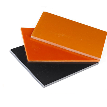 High quality low voltage 1mm~60mm insulation phenolic sheet bakelite sheet / plate / rod