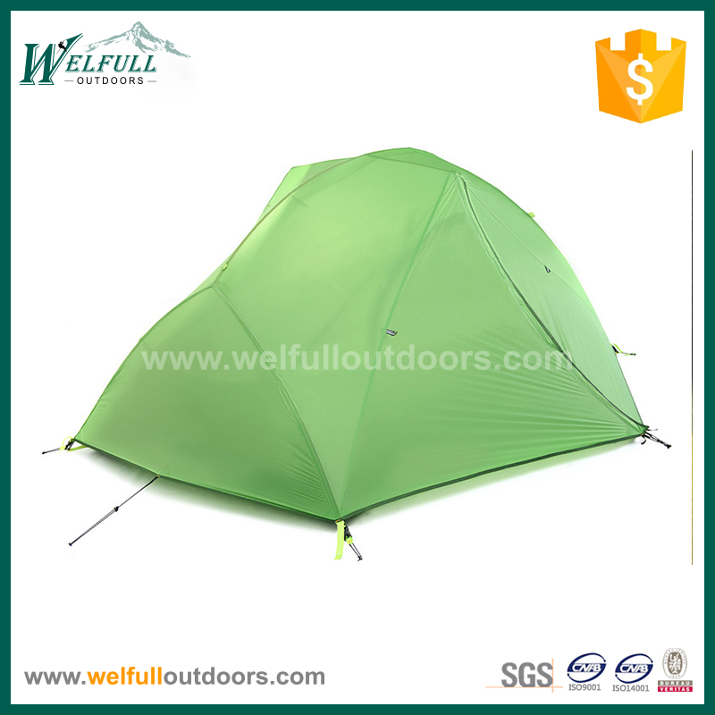 2 person ultra light nylon hiking tent