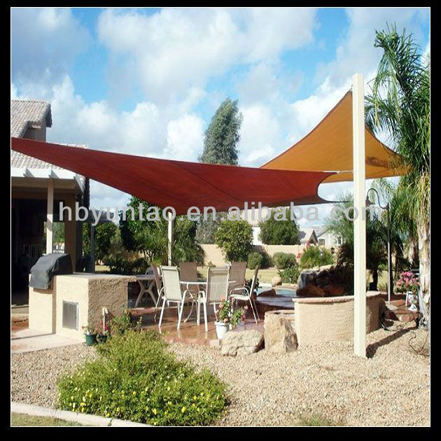 nice look and easy installation coolaroo shade sail