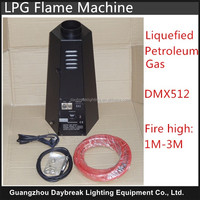 factory directly offer LPG DMX control fire machine for stage performance 110v-240v