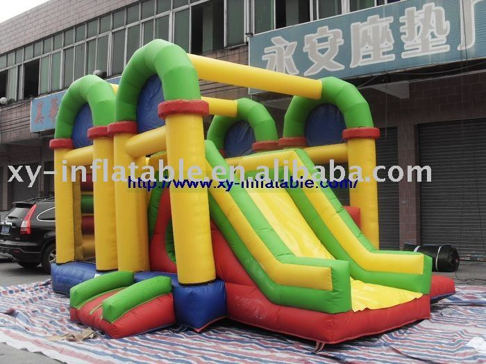 Sunny and fashionable inflatable jumping house