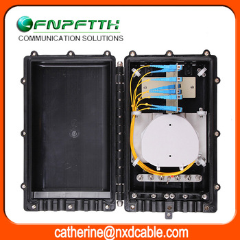 Duct-mounting Bunchy fiber 144 core fiber optic splice closures