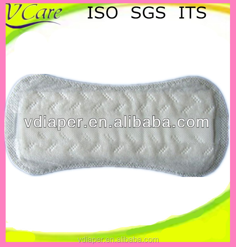 mini disposable panty liner for woman