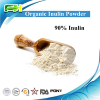 EOS & USDA Certified Organic Inulin Powder, Jerusalem Artichoke Extract 90% Organic Inulin, Inulin Powder